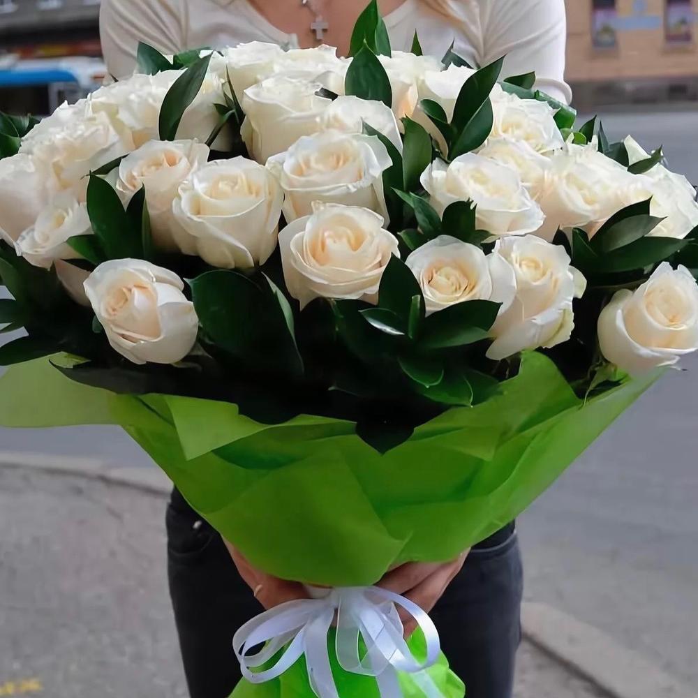 Подарить букет белых роз фото, магазин цветов пензе