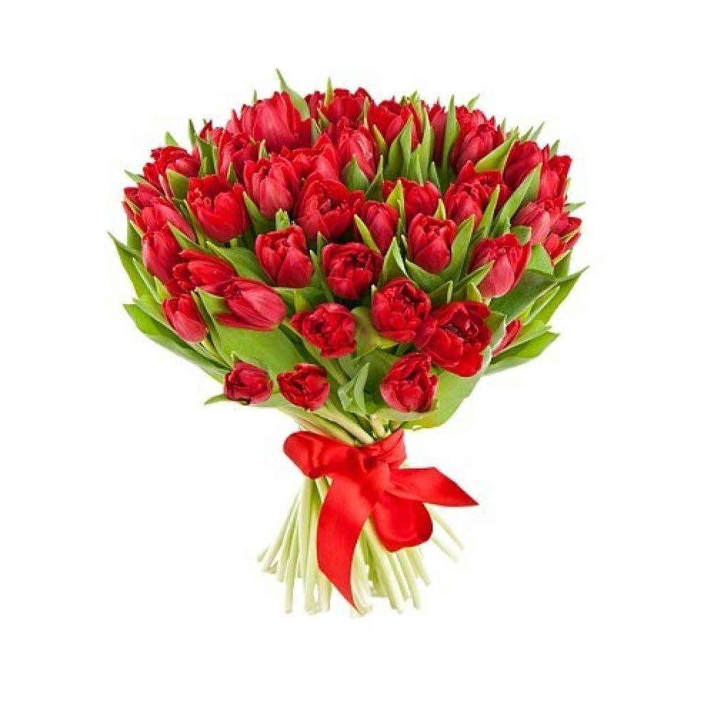 Для, букеты тюльпанов красных