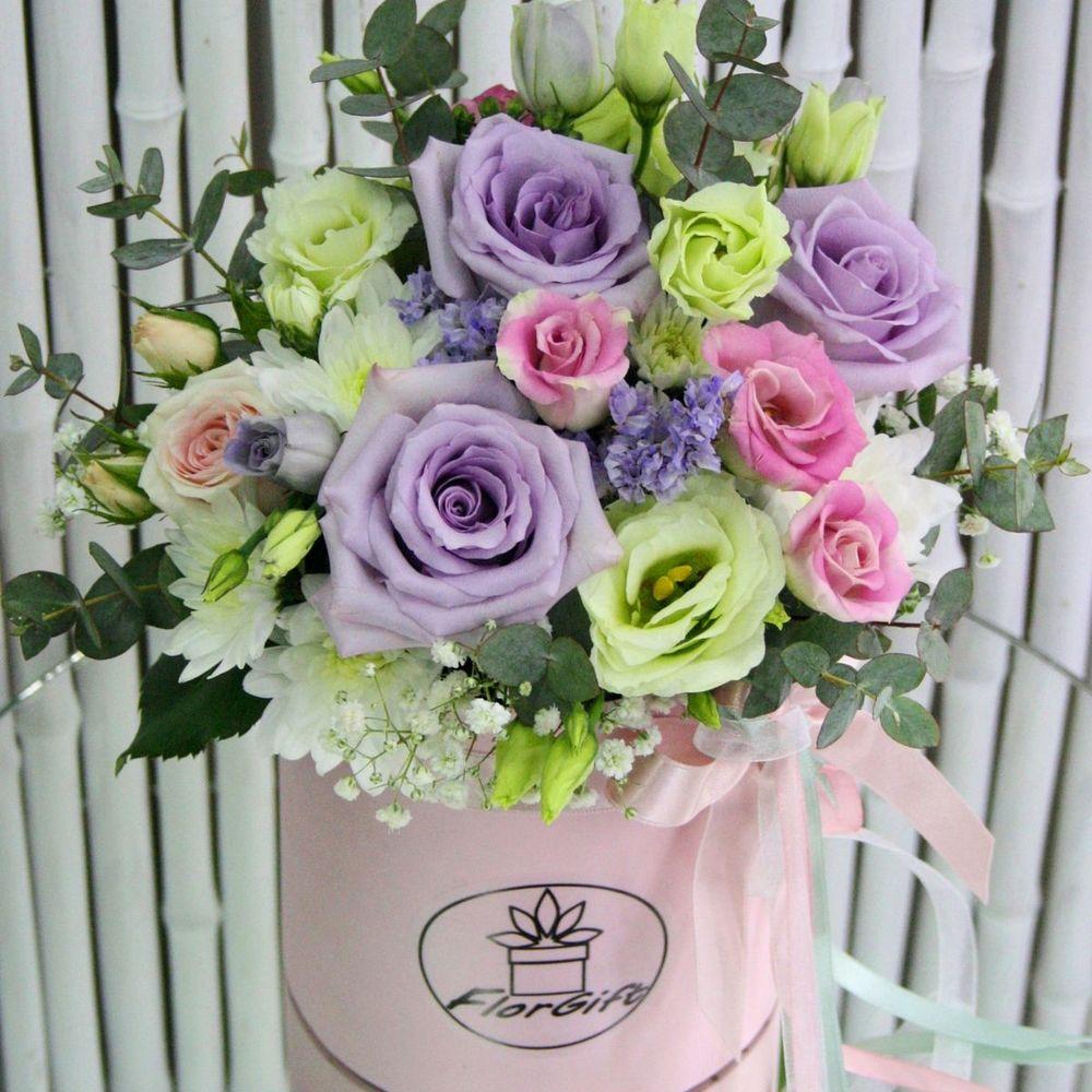 Цветы, цветы на заказ в самаре в коробке