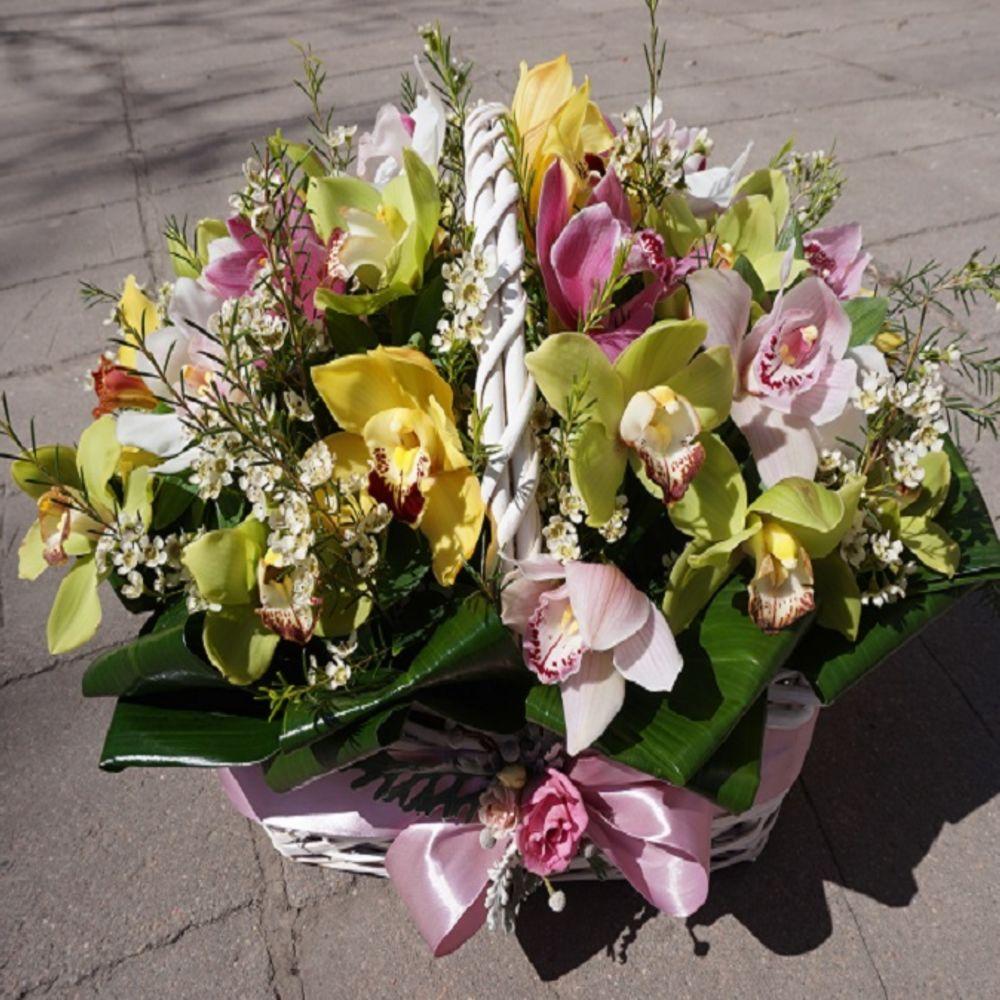 Доставка цветов нижневартовск орхидея