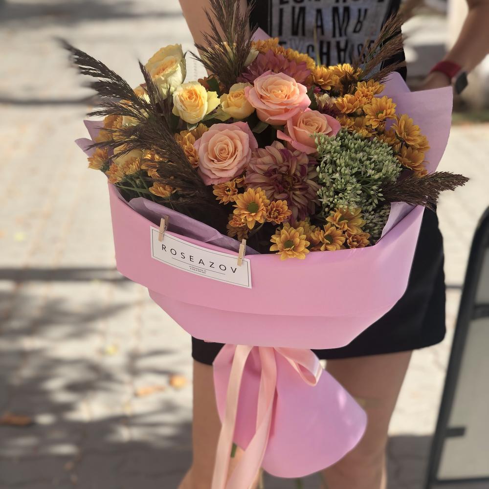 Доставка цветов в аксай, невесты красных