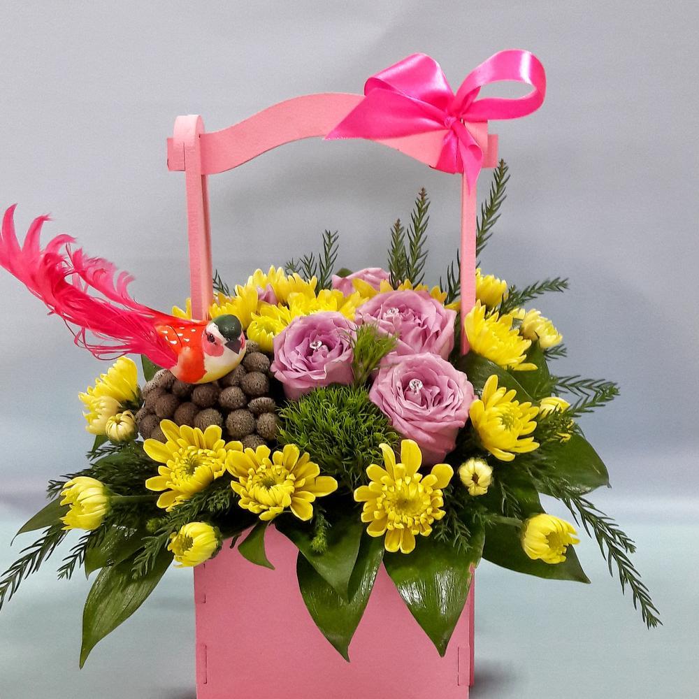 Доставка цветов по тамани