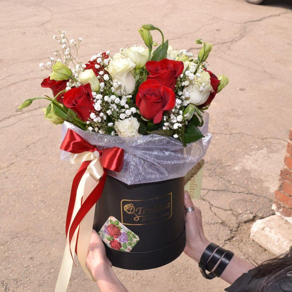 Курьерская доставка цветов в городе владивосток, букет