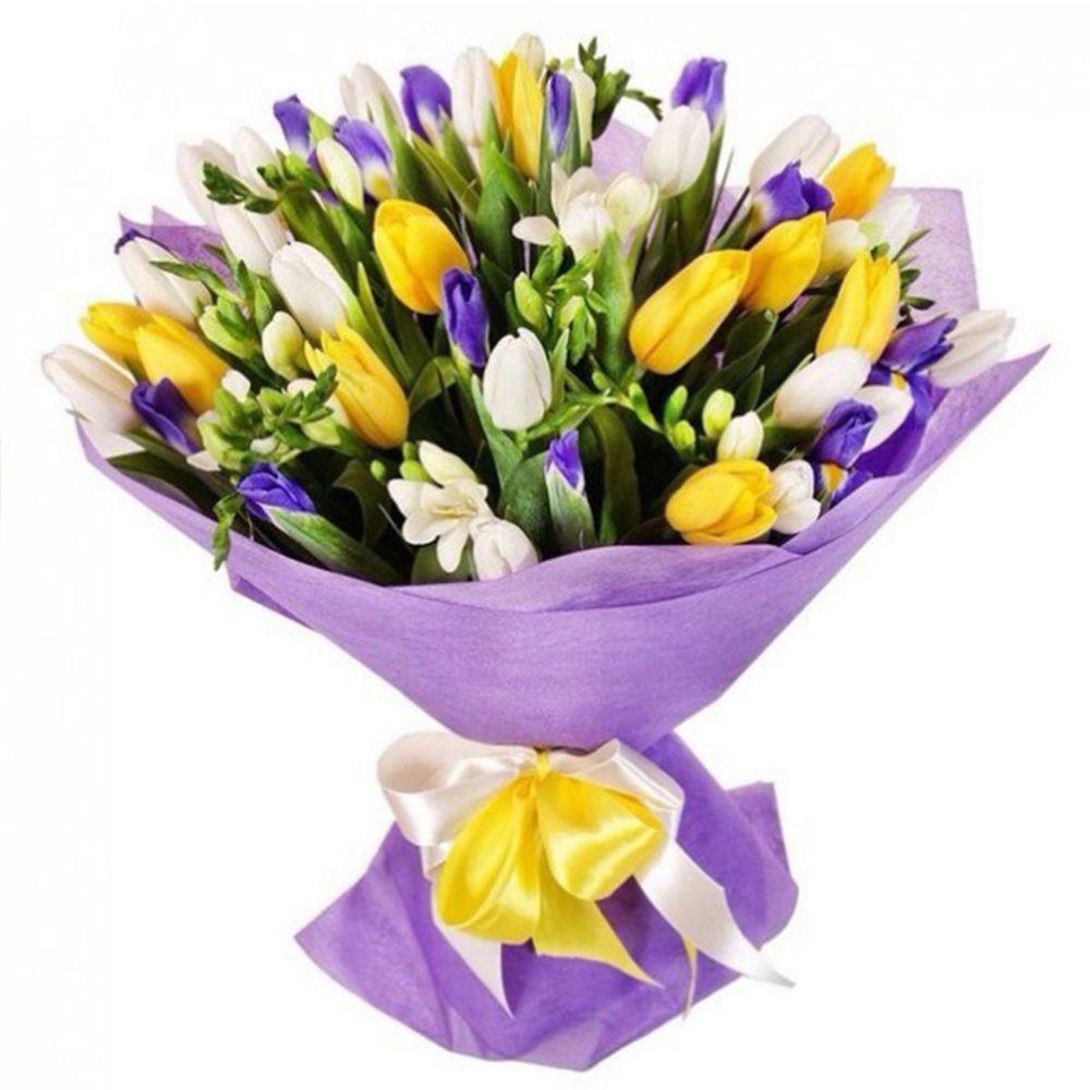 Заказать, маленькие букет из весенних цветов картинки