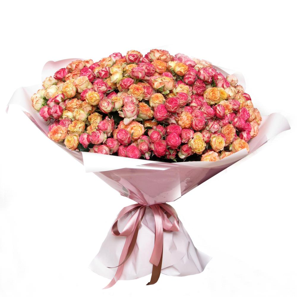 Цветов, букет 51 кустовая роза
