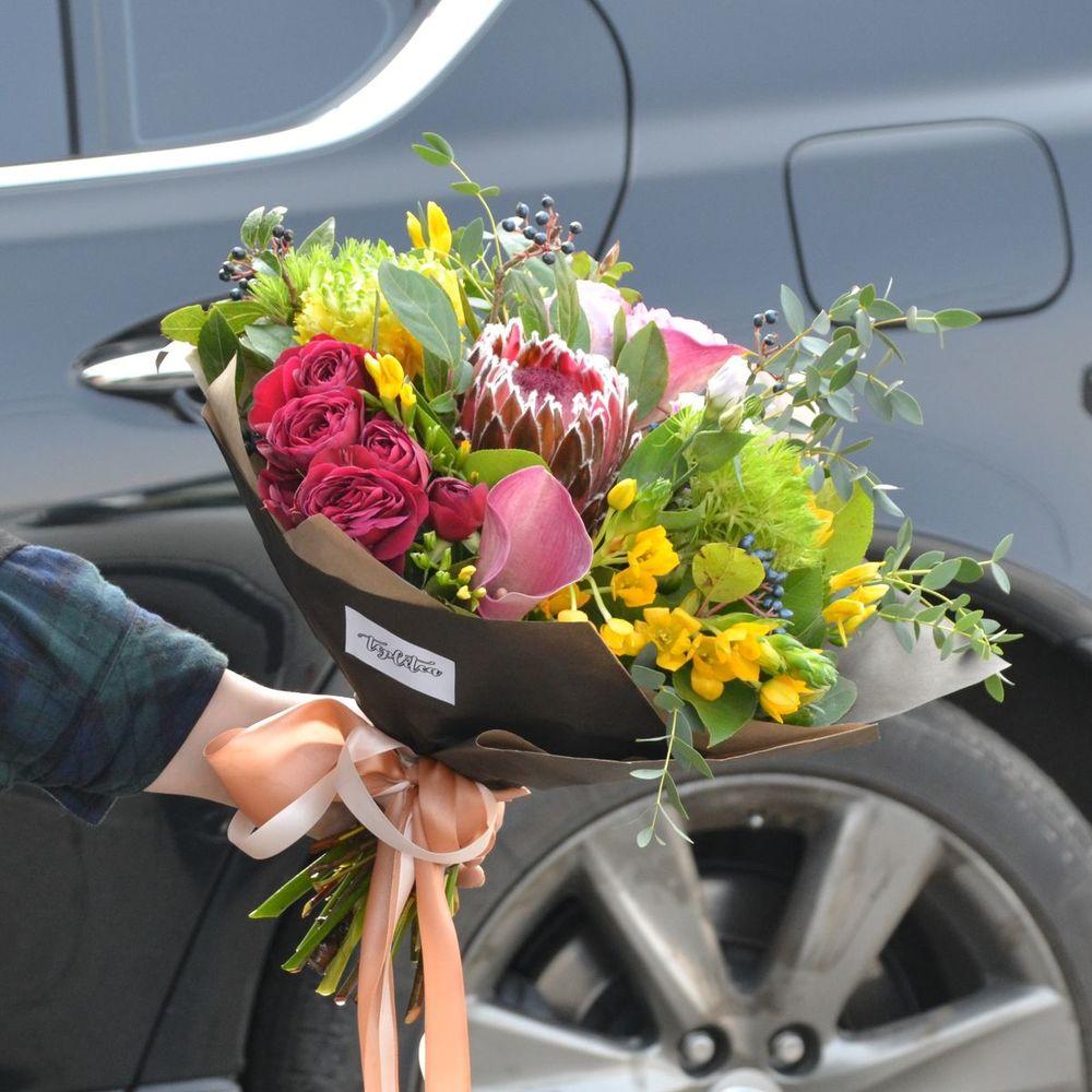 Курьерская доставка цветов в городе владивосток