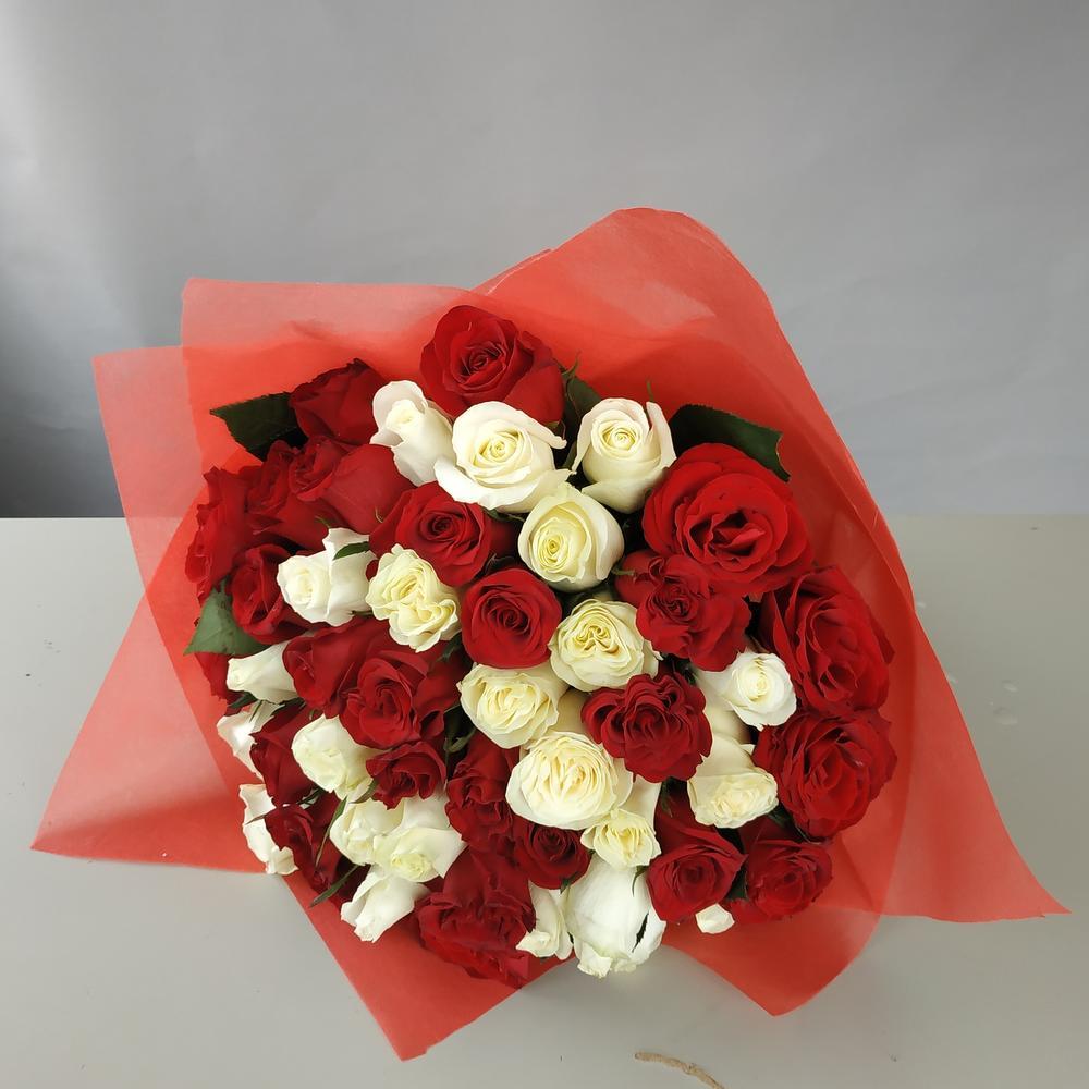 Розы, 51 роза доставка самара