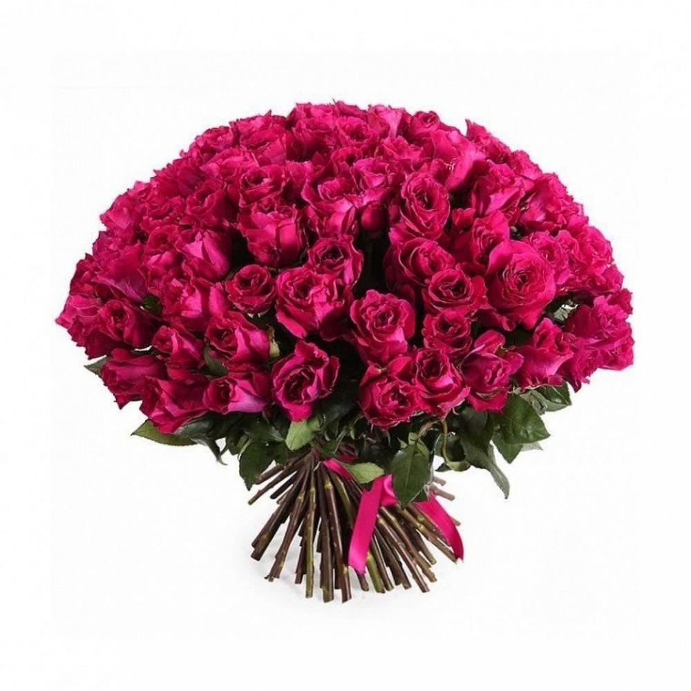 Цветов, букет из 101 розы открытки