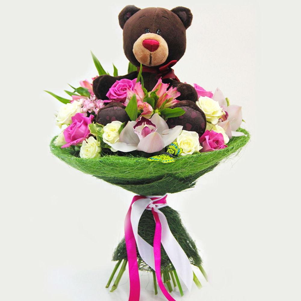 Букет цветов, детские букеты и композиции из цветов