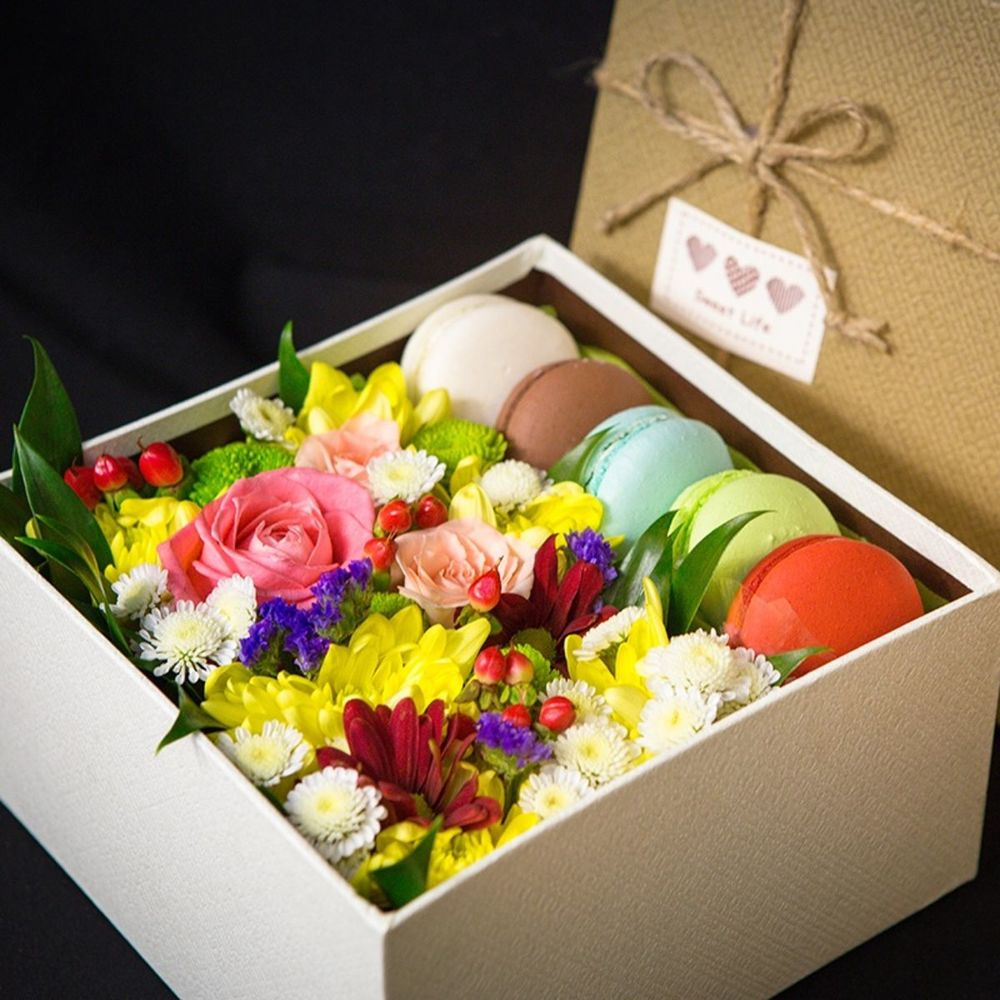 Цветы на заказ в самаре в коробке