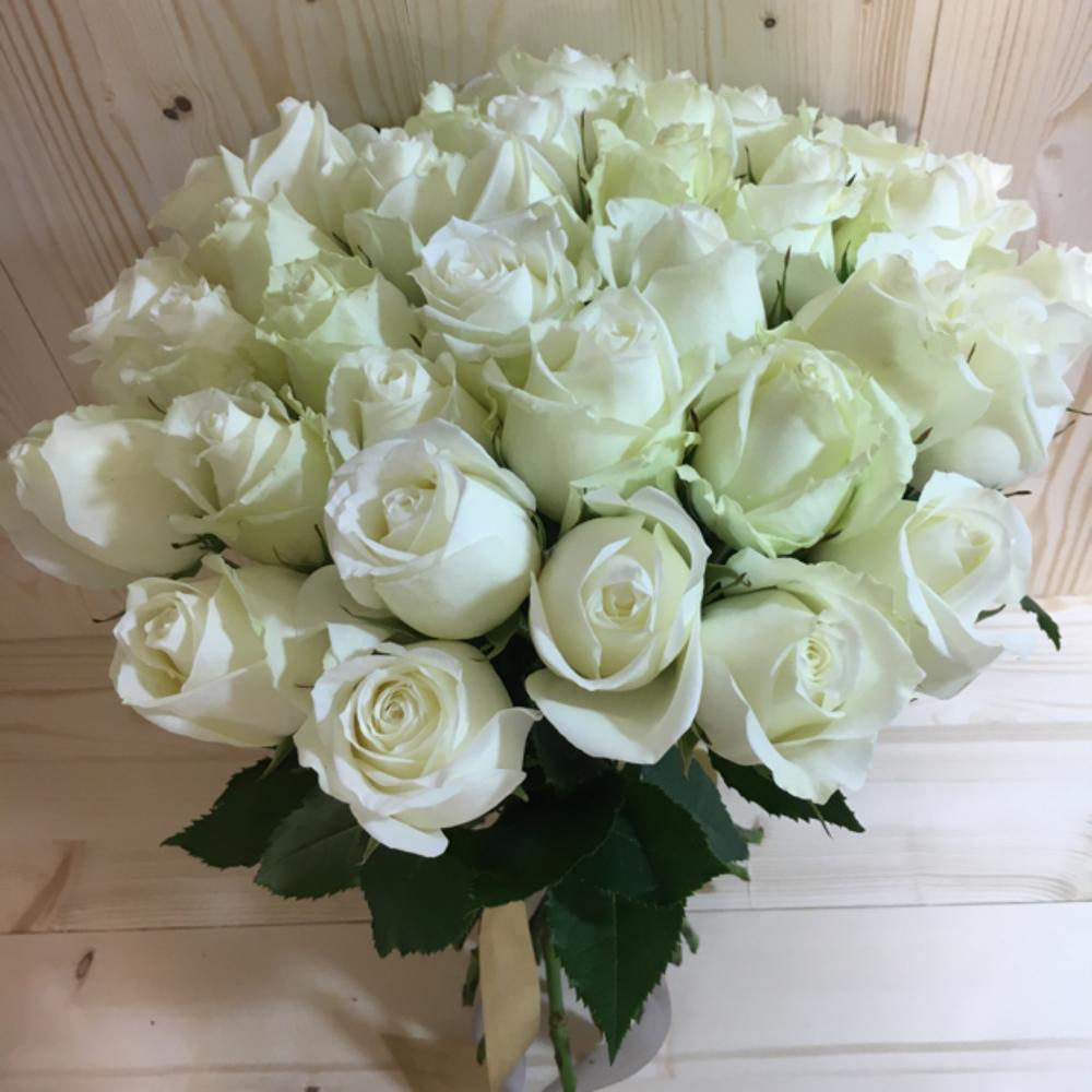 нужно букет белых роз фото
