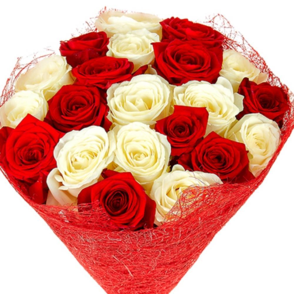 Букет из 21 розы грн, поставку