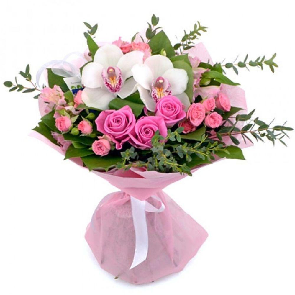 Купить букет с орхидеями фото, роз своими руками