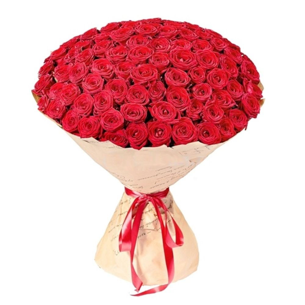 Желтых роз, купить 101 розу с доставкой в москве