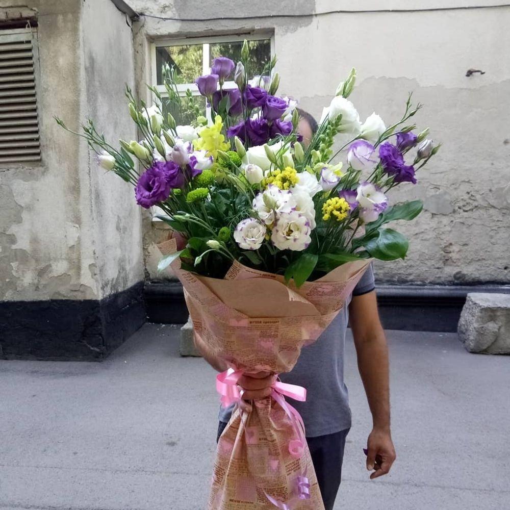 Букет тюльпанов, цветы на заказ сальск