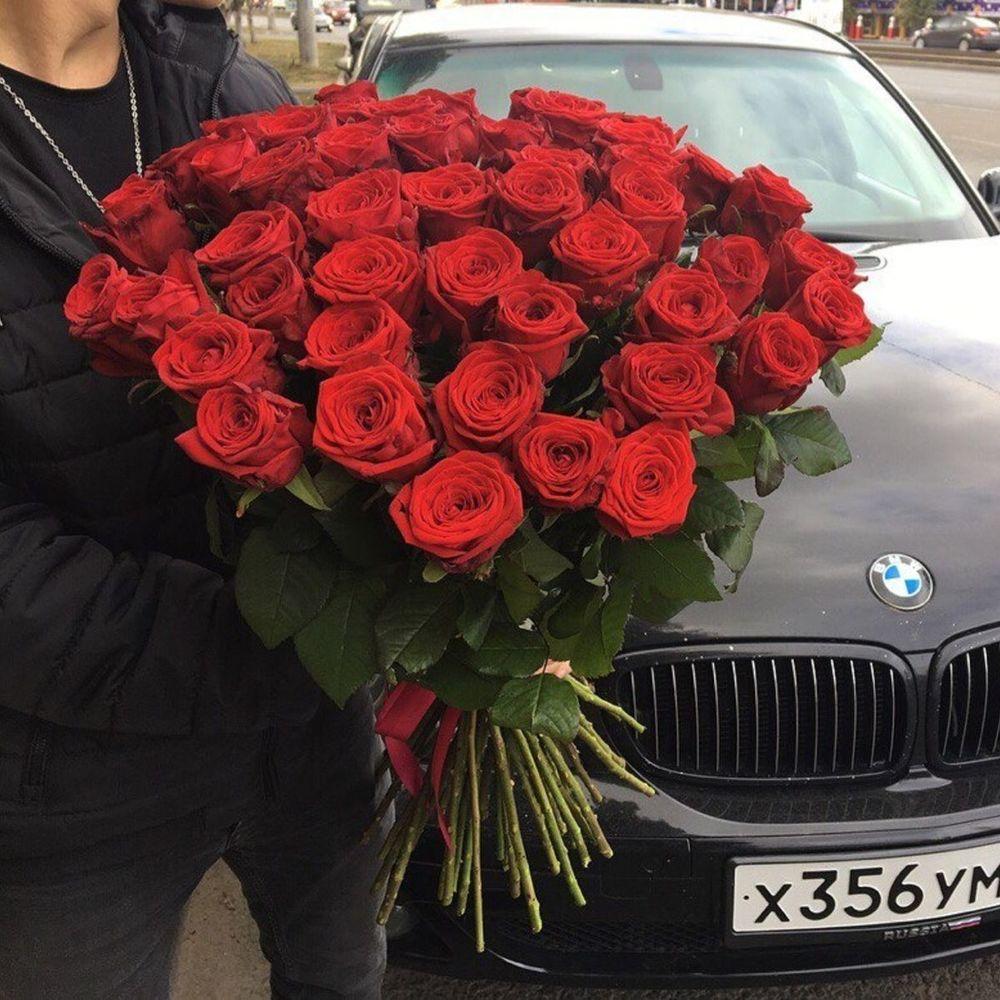 51 роза доставка самара, цветов железногорске
