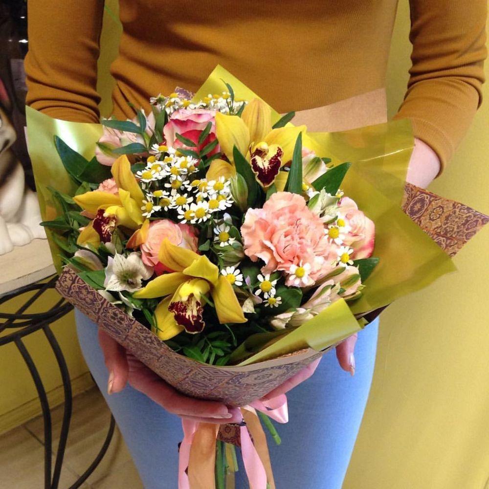 Заказ цветов с доставкой ковров, дню победы крупное