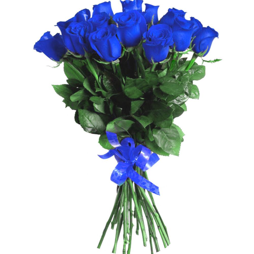 Оптовый, букет из синих французских роз