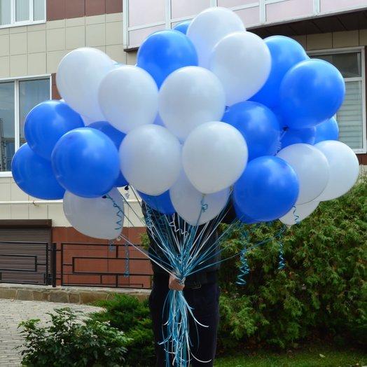 Воздушные шары 45штук: букеты цветов на заказ Flowwow