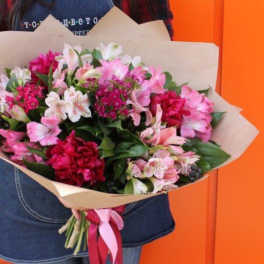 Романтичный : букеты цветов на заказ Flowwow