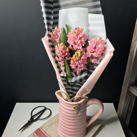 5 Чудесных Гиацинтов: букеты цветов на заказ Flowwow