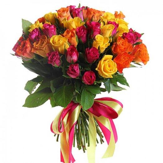 Букет 25 роз: букеты цветов на заказ Flowwow