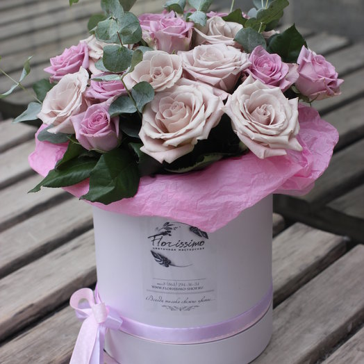 """Букет """"Розовый туман"""": букеты цветов на заказ Flowwow"""