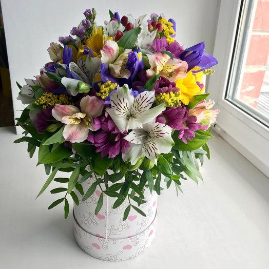 Яркий поцелуй : букеты цветов на заказ Flowwow