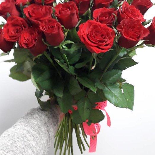 Акция!!! 25 роз: букеты цветов на заказ Flowwow
