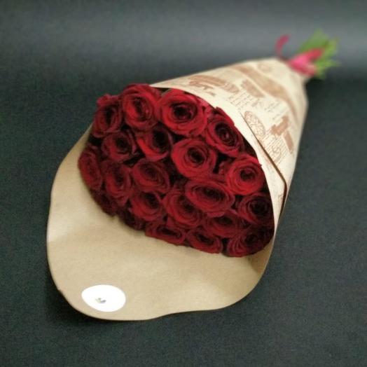 """""""Рэд Наоми 21"""": букеты цветов на заказ Flowwow"""