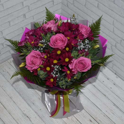 Кольчуга любви: букеты цветов на заказ Flowwow