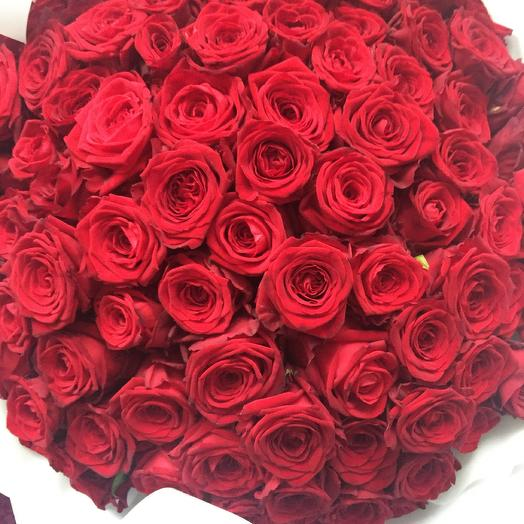 101 red rose Grand Pre: flowers to order Flowwow