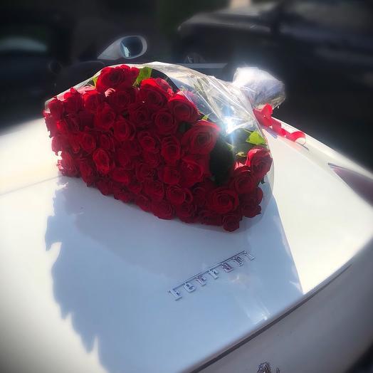 39 элитных эквадорских роз: букеты цветов на заказ Flowwow