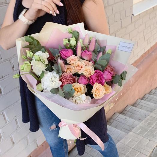 Магическое сияние: букеты цветов на заказ Flowwow