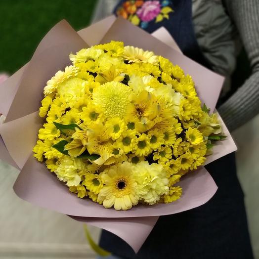 Вместо солнца: букеты цветов на заказ Flowwow