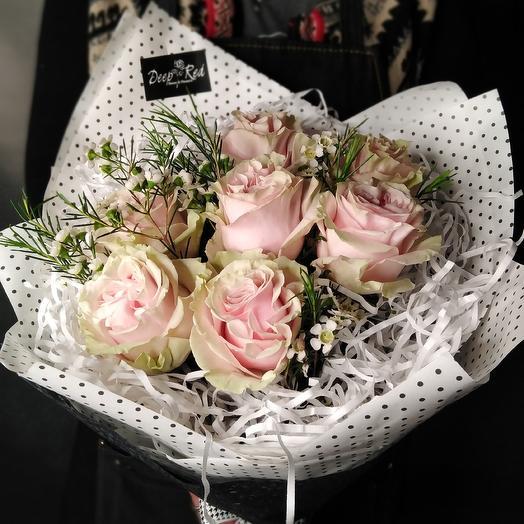 Букет Зефирный бриз: букеты цветов на заказ Flowwow