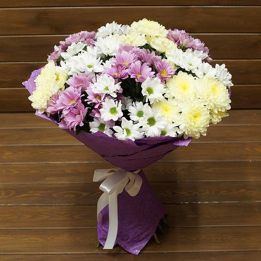 Букет 11 хризантем: букеты цветов на заказ Flowwow
