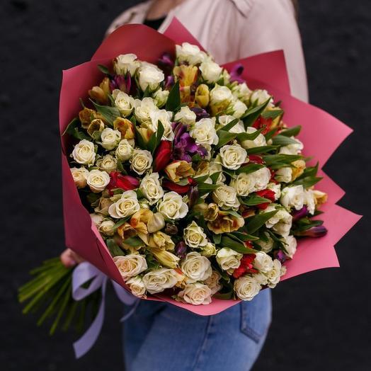 Круглая дата: букеты цветов на заказ Flowwow