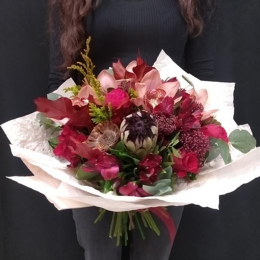 Букет - Готика: букеты цветов на заказ Flowwow