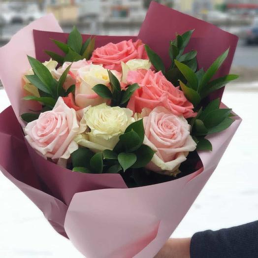 Мадемуазель: букеты цветов на заказ Flowwow