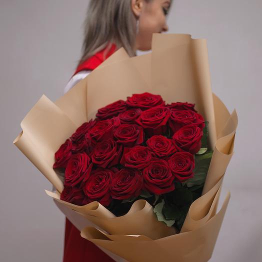 """Букет роз """"Люблю тебя !"""""""
