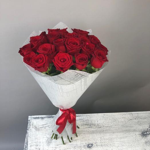 Velvet - 21 red rose
