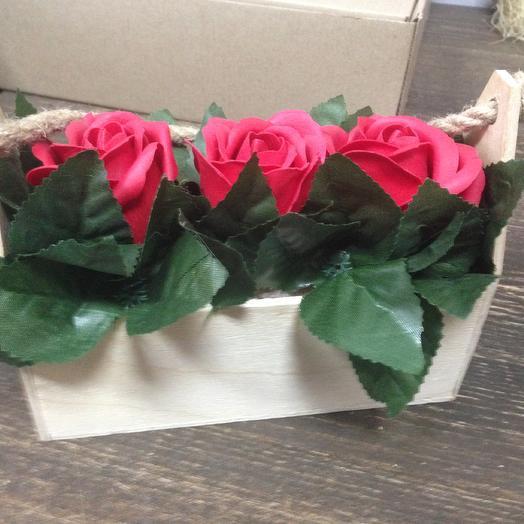 РОЗА ИЗ МЫЛА. Для тебя: букеты цветов на заказ Flowwow