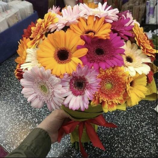 Герберы микс цвета: букеты цветов на заказ Flowwow