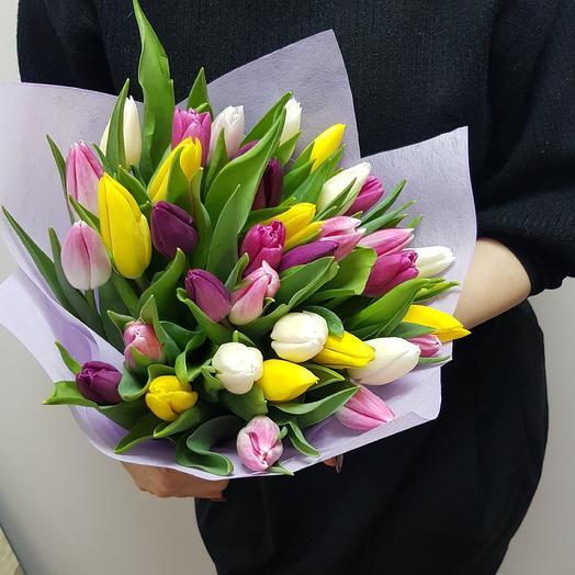 Тюльпаны микс 35