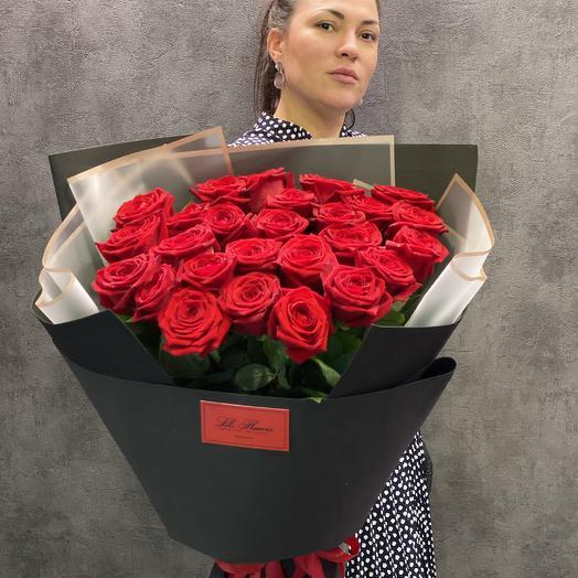 Букет из крупных роз с доставкой