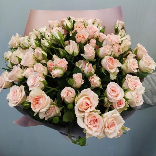 Роза кустовая 40 см 25 шт