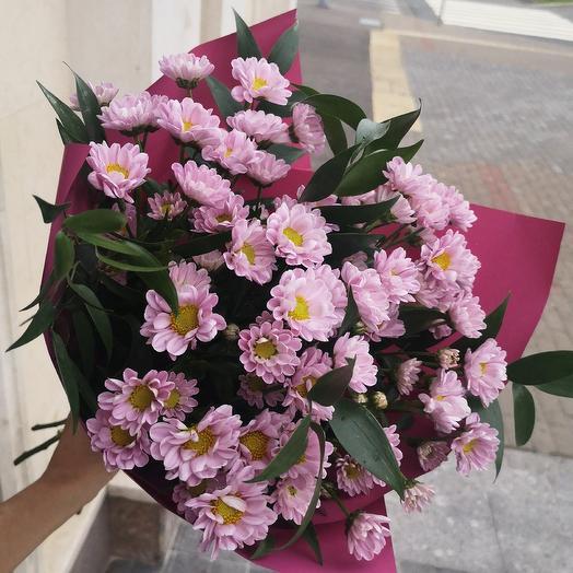 Сиреневые Сантини: букеты цветов на заказ Flowwow