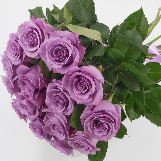 15 сиреневых роз