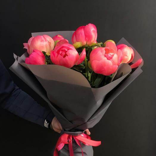 Коралловый риф: букеты цветов на заказ Flowwow